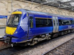 ScotRail is also facing continuing reduction of Sunday services amid weekly walkouts by ticket examiners and conductors (Jane Barlow/PA)