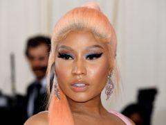 Nicki Minaj has released three new songs (Jennifer Graylock/PA)