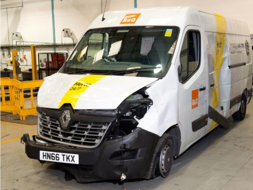 New guidance has been issued to lorry and van owners to minimise the risk of their vehicles being used in terror attacks (Metropolitan Police/PA)