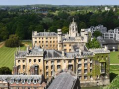 General view of St John's College at Cambridge University (Joe Giddens/PA)
