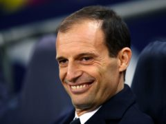 Massimiliano Allegri is back at Juventus for a second spell (John Walton/PA)