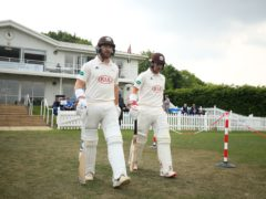 Rory Burns and Mark Stoneman were two of the six wickets to fall for just seven runs (Adam Davy/PA)