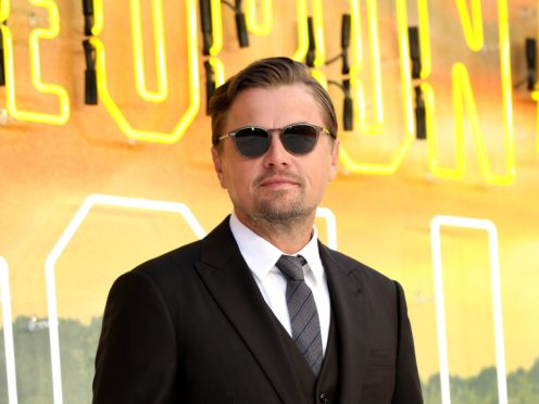 Leonardo DiCaprio has shared a first look at his latest film Killers Of The Flower Moon (Isabel Infantes/PA)