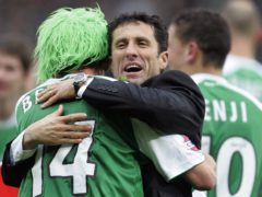 Former Hibernian boss John Collins feels the Scottish Cup is up for grabs (PA Archive)