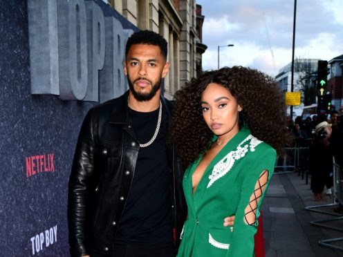 Leigh-Anne Pinnock (right) and Andre Gray (Ian West/PA)
