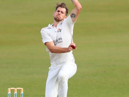 Tom Bailey helped Lancashire take command of the Roses encounter (Simon Cooper/PA)