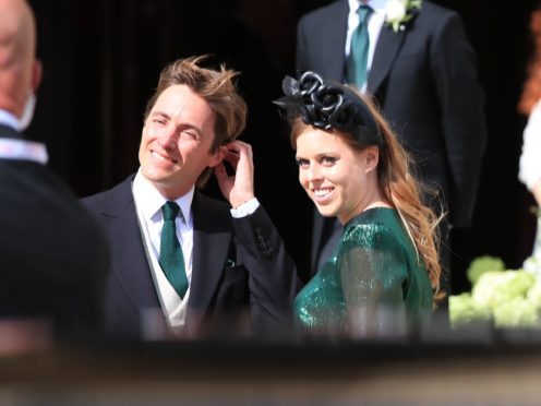 Edoardo Mapelli Mozzi proposed to Beatrice on a weekend trip to Italy in September 2019 (Peter Byrne/PA)