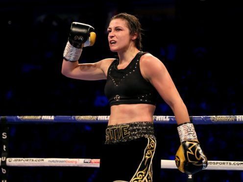 Katie Taylor won a classic on Saturday night (Richard Sellers/PA)