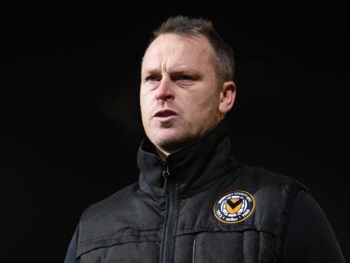 Newport manager Michael Flynn (Joe Giddens/PA)