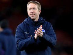 Graham Potter insists his Brighton side should celebrate their Premier League survival (Adam Davy/PA)