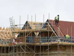 More than 1.1m homes granted planning permission in England in the past decade are yet to be built, according to the Local Government Association (Gareth Fuller/PA)