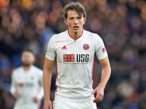 Sheffield United midfielder Sander Berge has picked up another injury (Tess Derry/PA)
