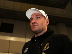 Tyson Fury, pictured, is now closing in on a trilogy fight with Deontay Wilder (Peter Byrne/PA)
