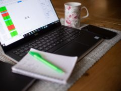 Homeworking more than doubled in 2020 according to new figures (Joe Giddens/PA)