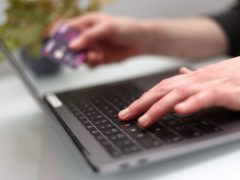 Online shoppers abandon more than £100-worth of goods in baskets every month on average, according to Barclaycard Payments (Tim Goode/PA)