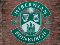 Hibernian have completed a first summer signing (Andrew Milligan/PA)