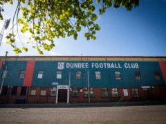 Dundee were beaten on the night but are through to the play-off final (Jane Barlow/PA)