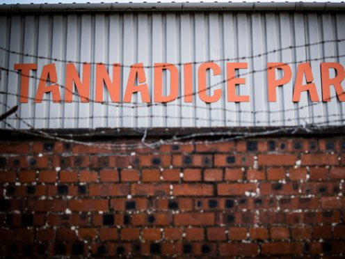 Dundee United fans want answers (Jane Barlow/PA)