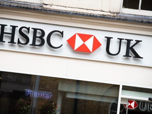 HSBC UK is planning to extend the opening hours of its branches in June, after previously reducing them during the coronavirus pandemic (Aaron Chown/PA)