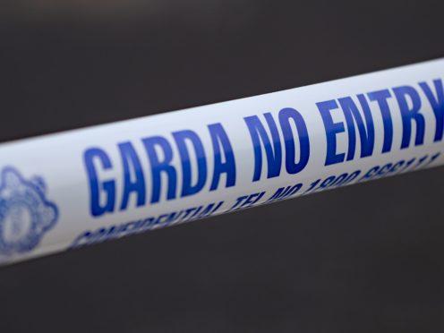 Stock images of Garda Crime scene tape (Niall Carson/PA)