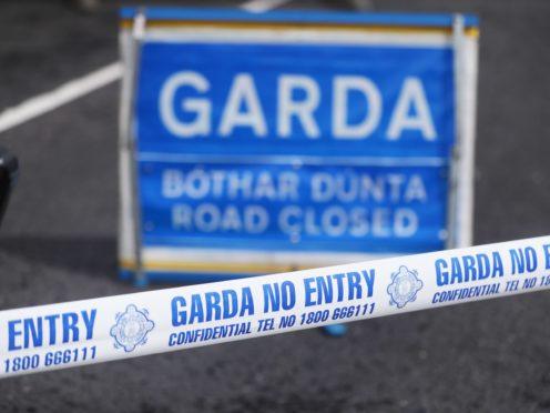 Stock images of Garda Crime scene tape.