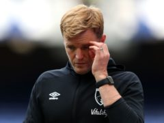 Eddie Howe's Celtic move is off (Catherine Ivill/PA)