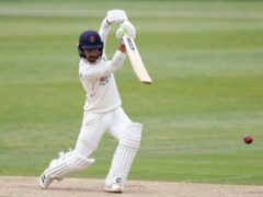 Josh Bohannon's unbeaten 127 gave Lancashire a first-innings lead of 350 in the Roses Championship clash (Martin Rickett/PA)