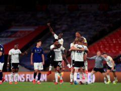 Brentford came up short at Wembley last season (Mike Egerton/PA)