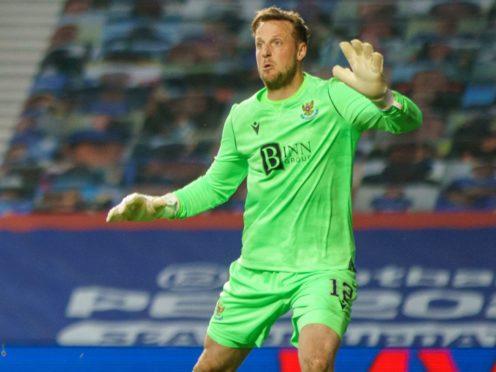 St Johnstone goalkeeper Elliot Parish has signed a new deal (Stuart Wallace/PA).