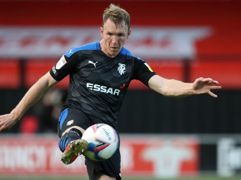 Mark Ellis scored the opening goal for Notts County (Nick Potts/PA)