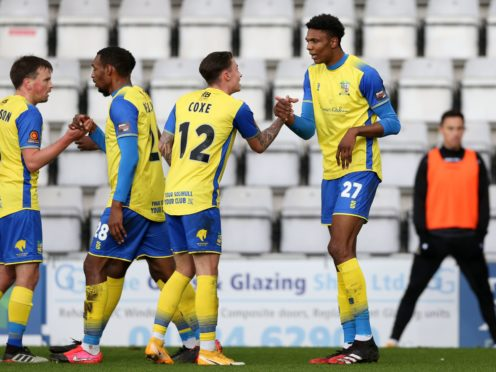 Solihull Moors were held to a 1-1 draw at King's Lynn (Barrington Coombs/PA)