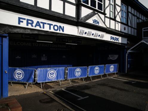 Portsmouth are aware of an incident involving some of their players (Kieran Cleeves/PA)