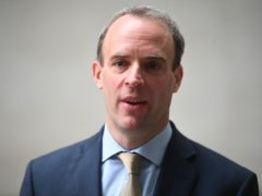 Foreign Secretary Dominic Raab. (Victoria Jones/PA)