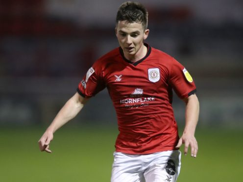 Tom Lowery missed Crewe's 1-0 win at Bristol Rovers due to a knock (Martin Rickett/PA).