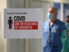 Almost a third of patients who caught coronavirus while already in hospital died within 28 days (Andrew Miligan./PA)