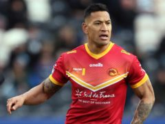 Israel Folau could face legal action from Catalans Dragons (Richard Sellers/PA)