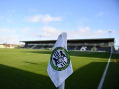The Football Association are investigating an allegation of homophobic abuse made by Forest Green after their League Two match with Tranmere (Simon Galloway/PA)