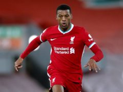 Midfielder Georginio Wijnaldum could be about to play his final match for the club (Clive Brunskill/PA)