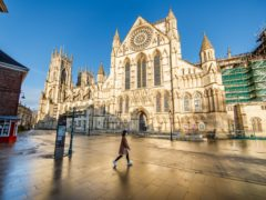 York Minster in York city centre. Buyer demand in York has surged in recent months, according to Rightmove (Danny Lawson/PA)