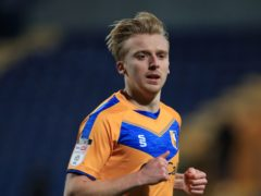 George Lapslie was among the scores for Mansfield (Mike Egerton/PA)