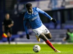 Jordy Hiwula is set to return for Portsmouth's final game of the season against Accrington (Kieran Cleeves/PA)