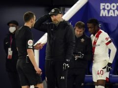 Southampton manager Ralph Hasenhuttl (centre) hopes referees will be given more help next season to get key decisions right (Tim Keeton/PA)