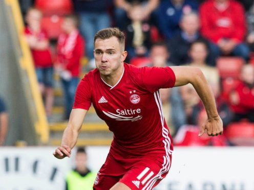 Ryan Hedges was on target in the win at Livingston (Jeff Holmes/PA)