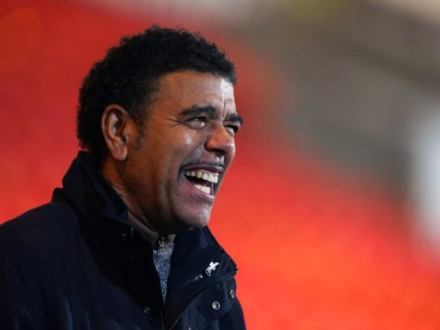 Television pundit Chris Kamara is receiving treatment for an underactive thyroid (Zac Goodwin/PA)