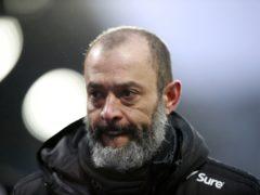 Nuno Espirito Santo has seen Wolves struggle with injuries this season (Ian Walton/PA)