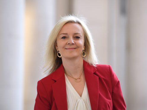 International Trade Secretary Liz Truss has held talks with her Australian counterpart (Leon Neal/PA)