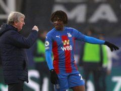 Roy Hodgson (left) says Eberechi Eze will bounce back from his serious Achilles injury (Ian Walton/PA)
