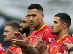 Israel Folau's future remains in limbo after Queensland Rugby League blocked his registration until he is released by Catalans Dragons (Richard Sellers/PA)