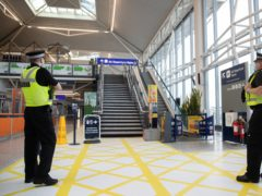 Christou was arrested by police on arrival at Bristol Airport (PA)