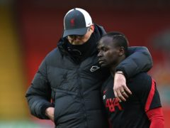 Jurgen Klopp sees no issues in his relationship with Sadio Mane (Laurence Griffiths/PA)